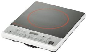 Bajaj ICX Pearl 1900 W Induction Cooktop (Black & White)