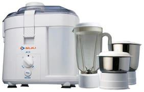 Bajaj JX 10 450 W Juicer Mixer Grinder ( White , 3 Jars )