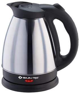 Bajaj KTX7 15 1.7 L Electric Kettle ( Black & Silver )