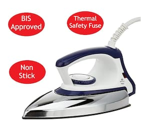 Bajaj Majesty dx 11 1000 W Dry Iron ( Blue & White )