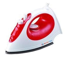 Bajaj Majesty mx15 1200 W Steam Iron ( Red & White )