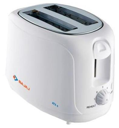 Bajaj Majesty ATX 21 Pop Up Toaster (White)