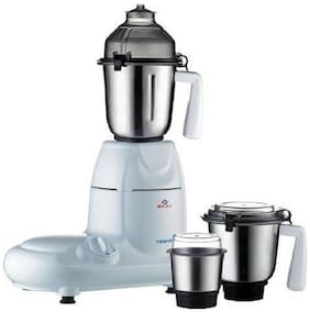 Bajaj MAJESTY TWISTER 750 W Mixer Grinder ( White , 3 Jars )