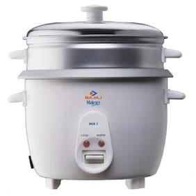 Bajaj Majesty RCX 7 1.8 L Food Steamer (White)
