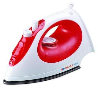Bajaj Majesty MX15 1200 W Steam Iron (Red & White)