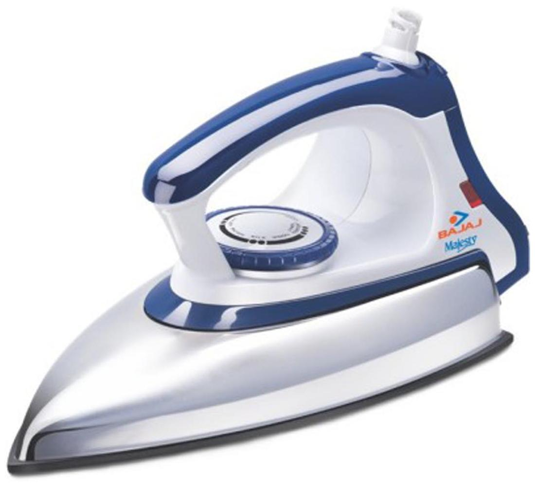 Bajaj Majesty DX 11 1000 W Dry Iron (Blue & White)