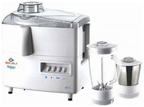 Bajaj MAJESTY JX 4 450 W Juicer Mixer Grinder ( White , 2 Jars )