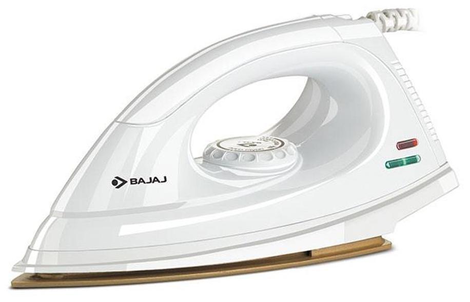 Bajaj Majesty DX 7 1000 W Dry Iron (White)