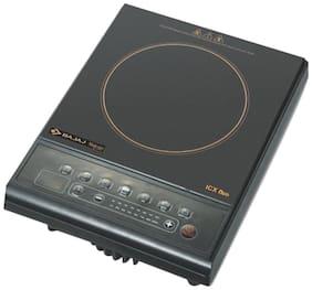 Bajaj ICX NEO1600W 1600 W Induction Cooktop ( Black , Push Button Control)