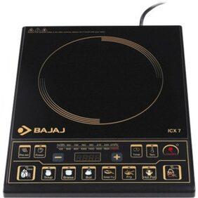 Bajaj Majesty ICX 7 1900 W Induction Cooktop (Black)