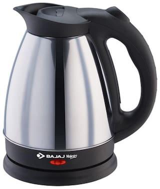 Bajaj MAJESTY KTX 15 1.7 L Black , Silver Electric Kettle ( 1500 W )