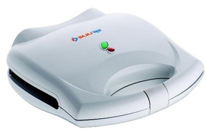 Bajaj Majesty New SWX-3 2 Slice Sandwich Maker (White)