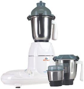 Bajaj MAJESTY TWISTER 750 W Mixer Grinder ( White , 3 Jars )