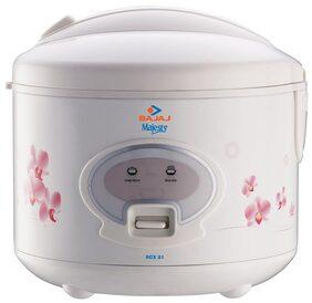 Bajaj Majesty RCX 18 1.8 L Rice Cooker (Cream)
