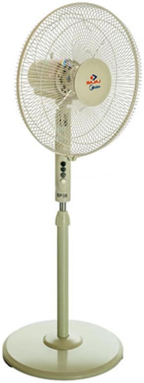 Bajaj MideaBP06 400 mm Economy Pedestal Fan ( White , Pack of 1 )