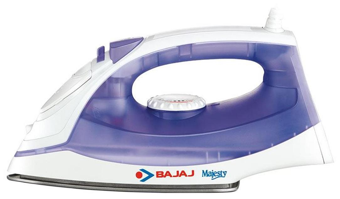 Bajaj MX 3 1250 W Steam Iron (WHITE AND PURPLE)
