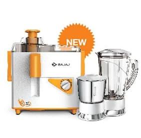 Bajaj JX4 450 W Juicer Mixer Grinder ( White , 2 Jars )