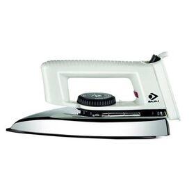 Bajaj Popular 1000 W Light Weight Iron(White)