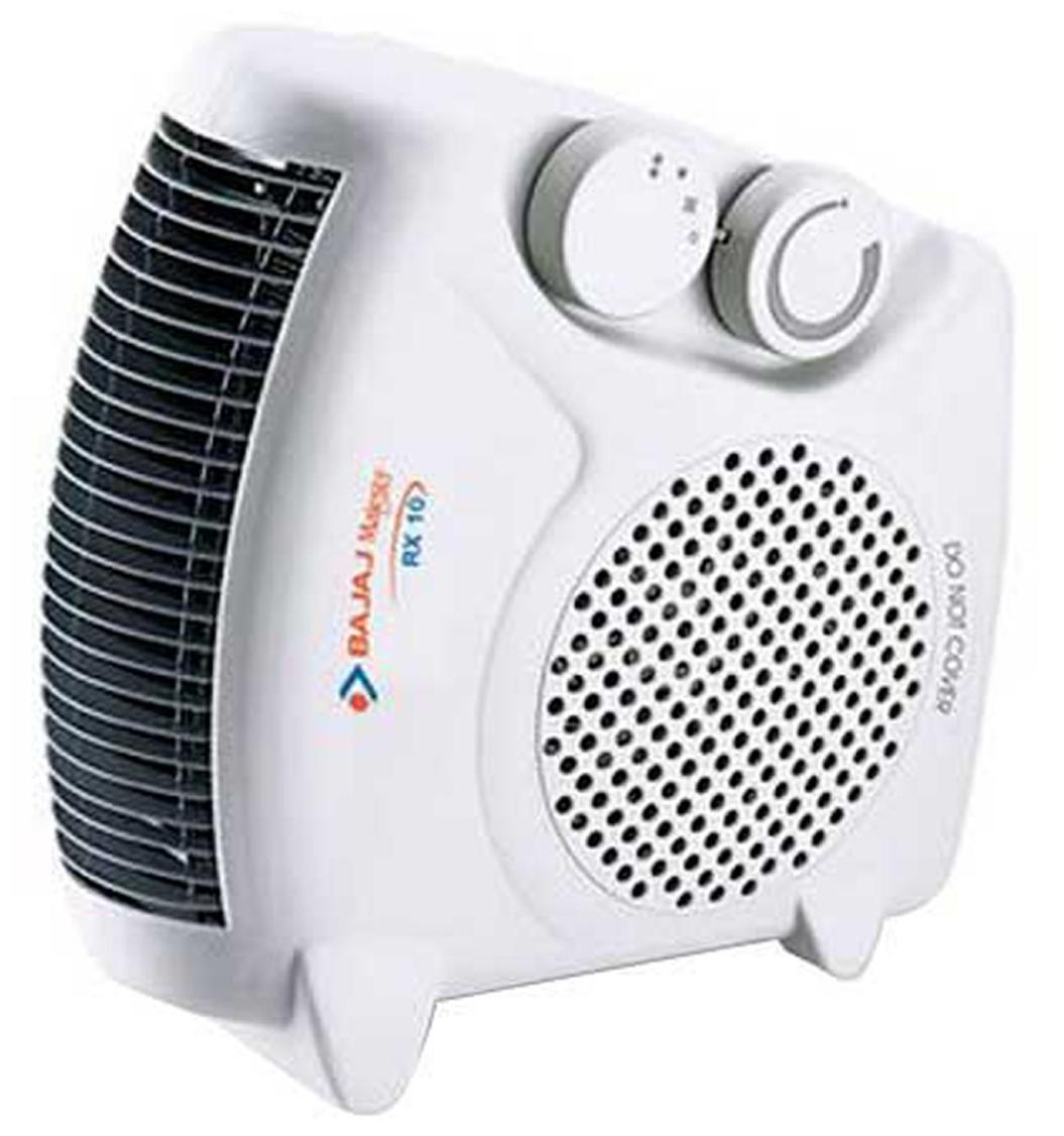 Bajaj RX10 Room Fan Heater (White)