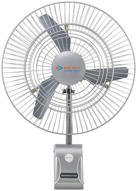 Bajaj Supreme Plus 750mm Wall Fan Grey