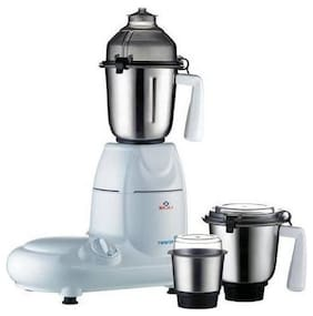 Bajaj TWISTER 750 W Mixer Grinder ( White , 3 Jars )