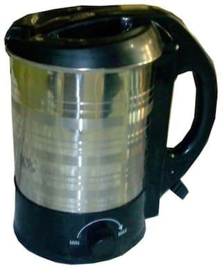 Bajaj Vacco Hot Maxx K-03 1.0 L Electric Kettle (Black & Silver)