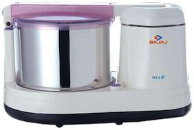 Bajaj WX-9 175 W Wet Grinder ( White , No Jar )