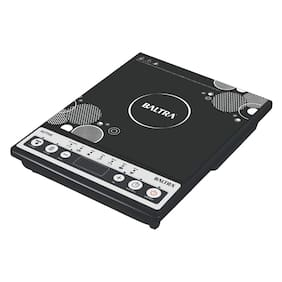 Baltra BIC-124 2000 W Induction Cooktop ( Black , Push Button Control)