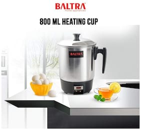 Baltra BHC-101 0.8 L Black & Silver Electric Kettle ( 300 W )