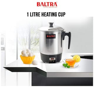 Baltra BHC-102 1 L Black & Silver Electric Kettle ( 300 W )