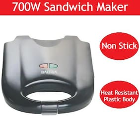 Baltra BSM-218 2 Slices Sandwich Maker - Black