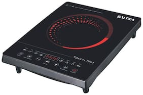 Baltra BIC-125 1800 W Induction Cooktop ( Black , Touch Panel Control)