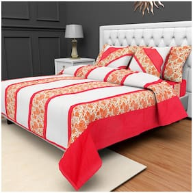 BARBICAN Cotton Paisley Double Size Bedding Set