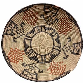 """Barkat Rugs 13"""" to 15"""" Inches Hand-Woven Southwestern Design Basket Brbsf-408"""