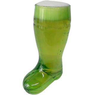 Barraid Green Beer Boot Glass 1 Litre Capacity