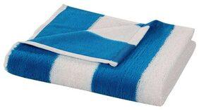 Bathe & Soak Microfiber Bath Towel Cabana 70x140 cms Blue