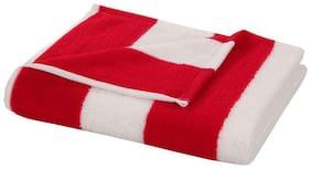 Bathe & Soak Microfiber Bath Towel Cabana 70x140 cms Red
