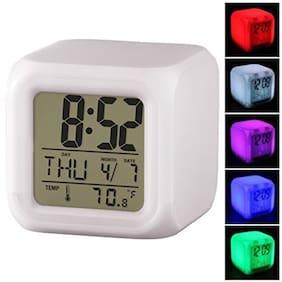 BAZAAR GALI Plastic Digital Alarm clock ( Set of 1 )