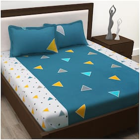 Story@Home Cotton Abstract King Size Bedding Set