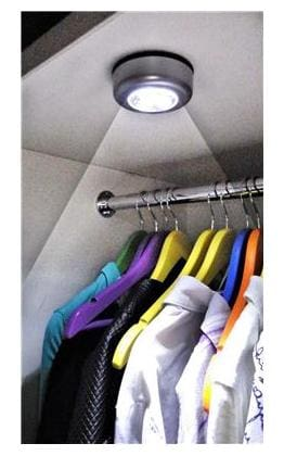 Bedside Wardrobe Cabinet Lamp Tap Touch Night Light