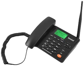 Beetel FWP F2-N Black Dual Sim Cordless Landline Phone ( Black )