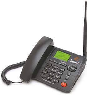 Beetel F3-4G Dual Sim Cordless Landline Phone ( Black )