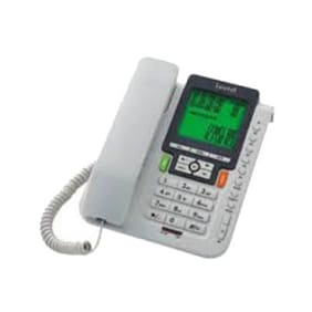 Beetel M71 Corded Landline Phone (White)