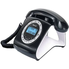 Beetel M73 White And Black Corded Phone