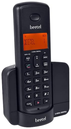 Beetel X-90 Cordless Telephone (Black)