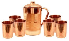 Kitchen4U 250 ml Copper Jug - Set of 7