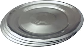 Beezy Stainless Steel Designer Plates;20 cm