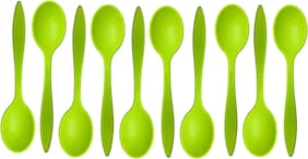 Beezy Stylish Colourfull Plastic Spoon For Ice Cream