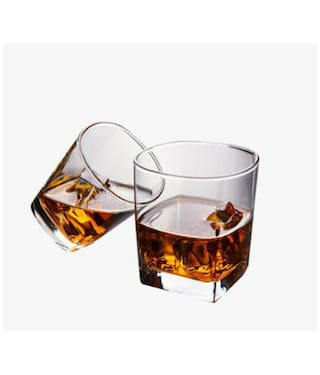 b876f3d36a1 Being Creative Crystal Whisky Party Designer   Clear Set of 6 of 185 ml  Whisky Glasses