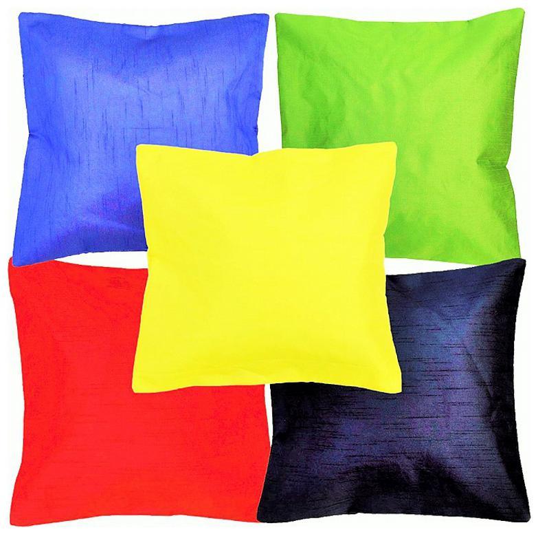 Belive Me Multi Plain Cushion Covers 40.64 cm  16 inch x40.64 cm  16 inch  / 40x40 cms